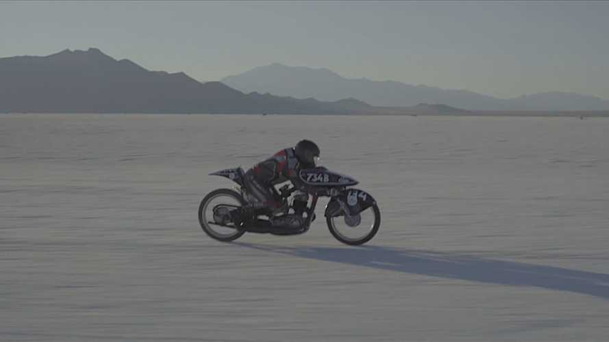 Two Friends, An Old Soviet Bike, And A Bonneville Speed Record