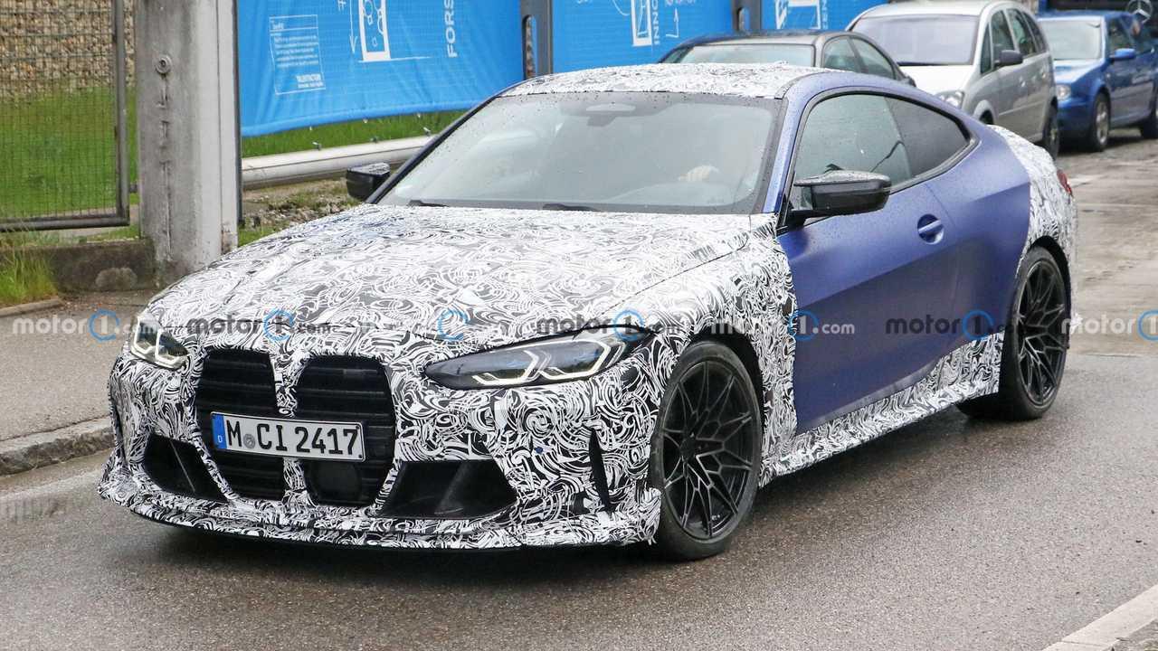BMW M4 CSL Spy Fotók