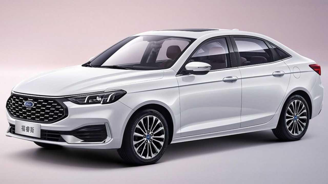 Ford Escort reestilizado - China