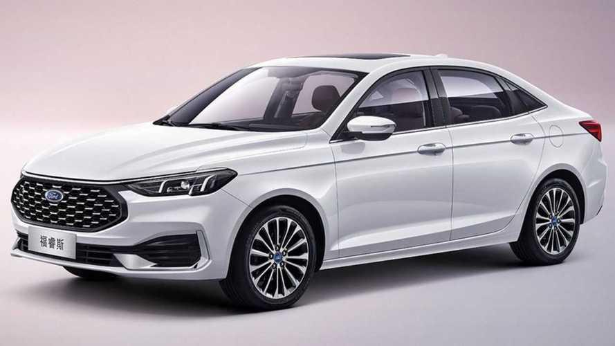 El renovado Ford Escort 2021 para China, al descubierto