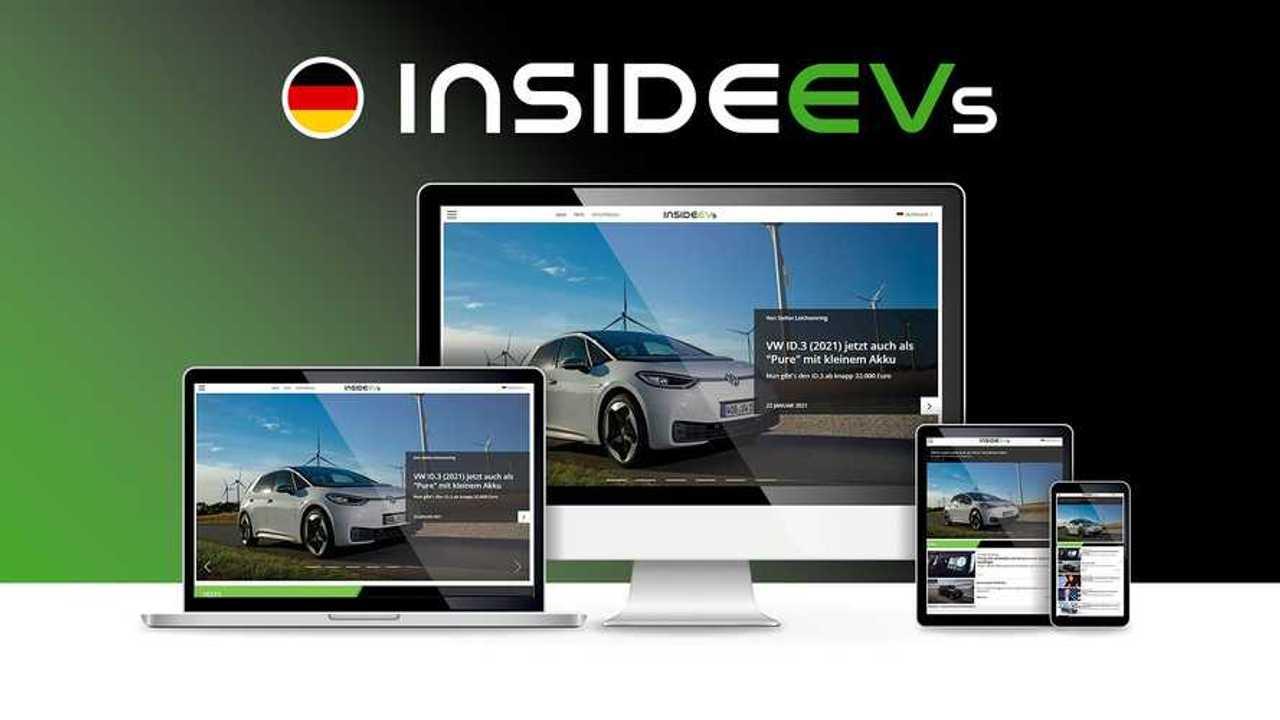InsideEVs Alemania, nueva web de Motorsport Network