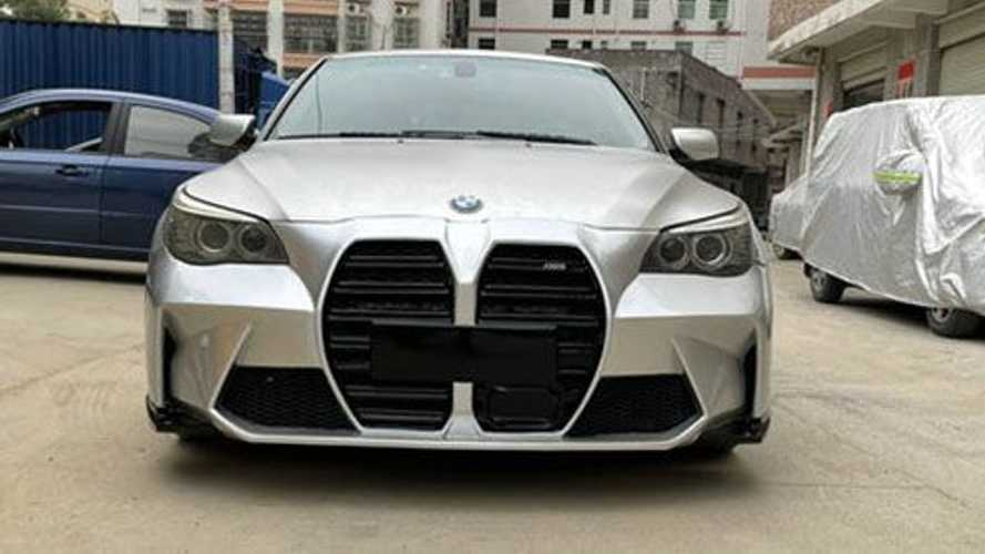 You Can Now Give Your BMW E60 5 Series The M3's Big Grille Treatment