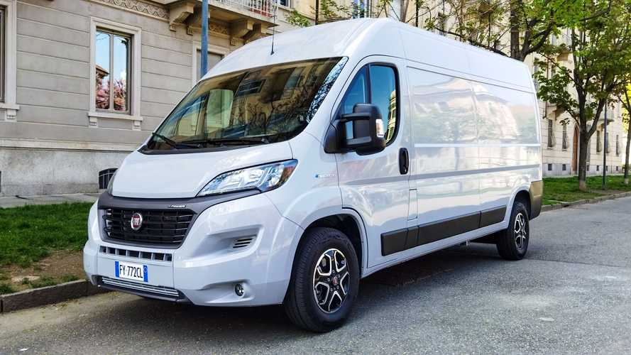 Fiat Launches E-Ducato Electric Van