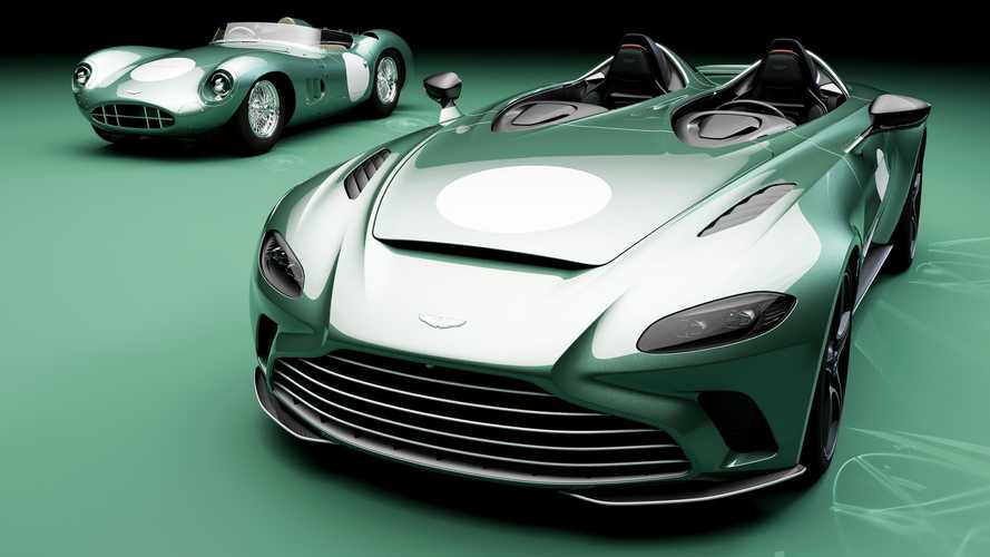 Aston Martin V12 Speedster Gets Retro-Inspired DBR1 Specification Pack