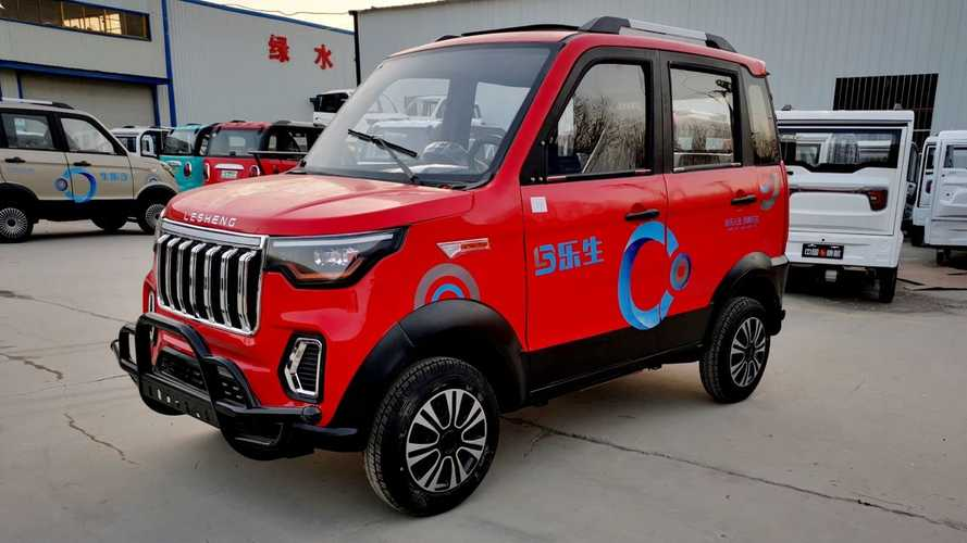 SUV elétrico vendido por R$ 16 mil só é possível no Alibaba