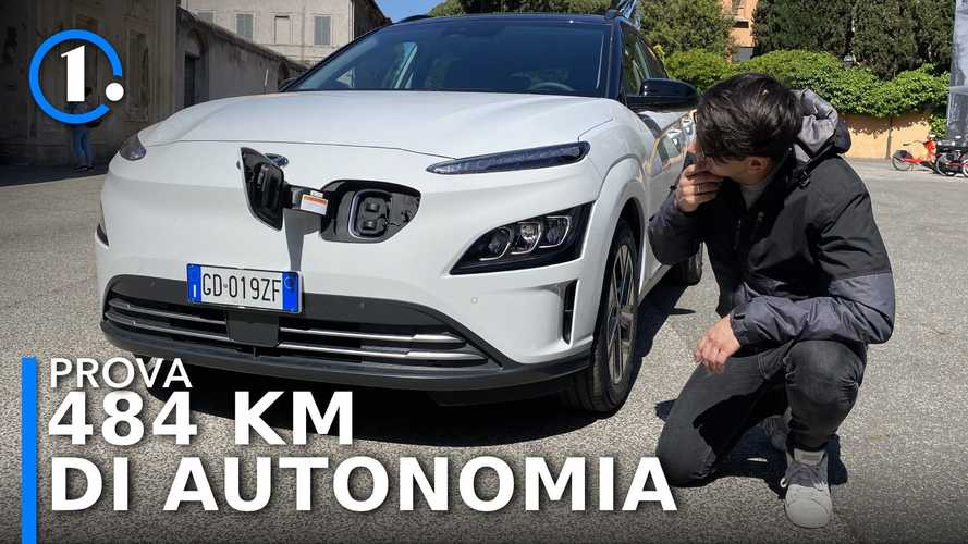Hyundai Kona Electric restyling (2021), come va su strada
