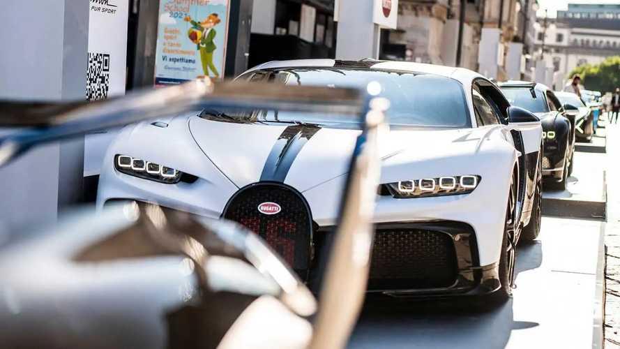 2021 Bugatti Chiron Super Sport Public Debut