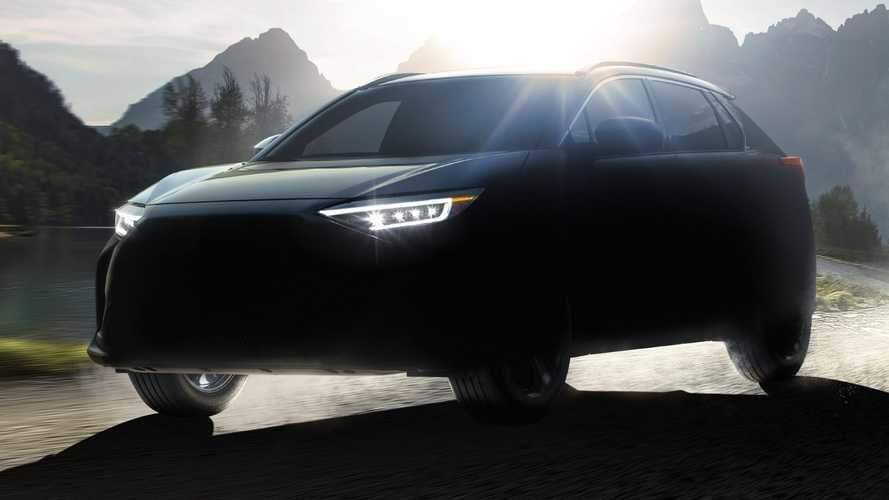 Subaru Solterra Teased As Electric SUV Co-Developed With Toyota