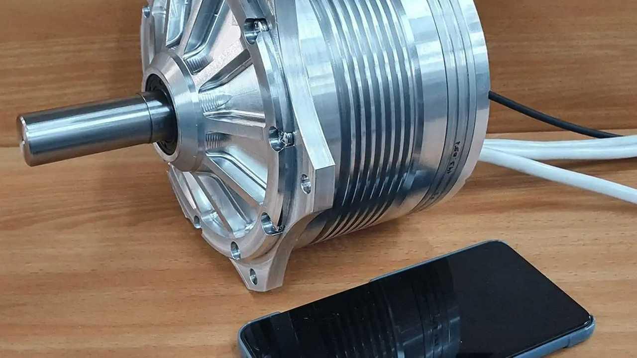 Il motore in miniatura della EVR Motors