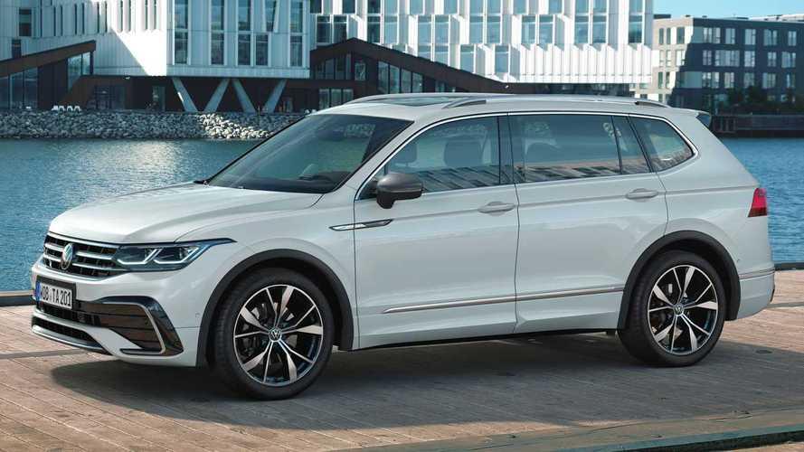 VW Tiguan Allspace (2021): Update für den Siebensitzer