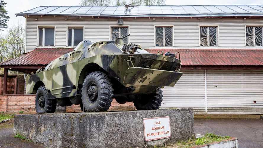22-й БТРЗ и мастерская Военно-технического общества