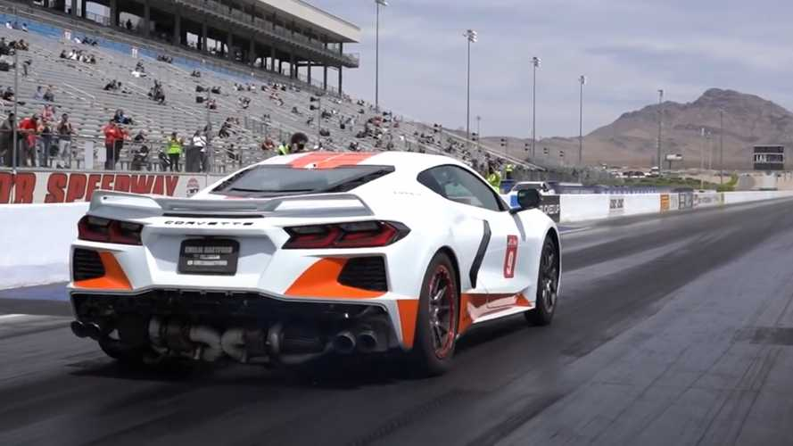 Watch Quarter-Mile Run That Got World's Fastest Corvette C8 Booted