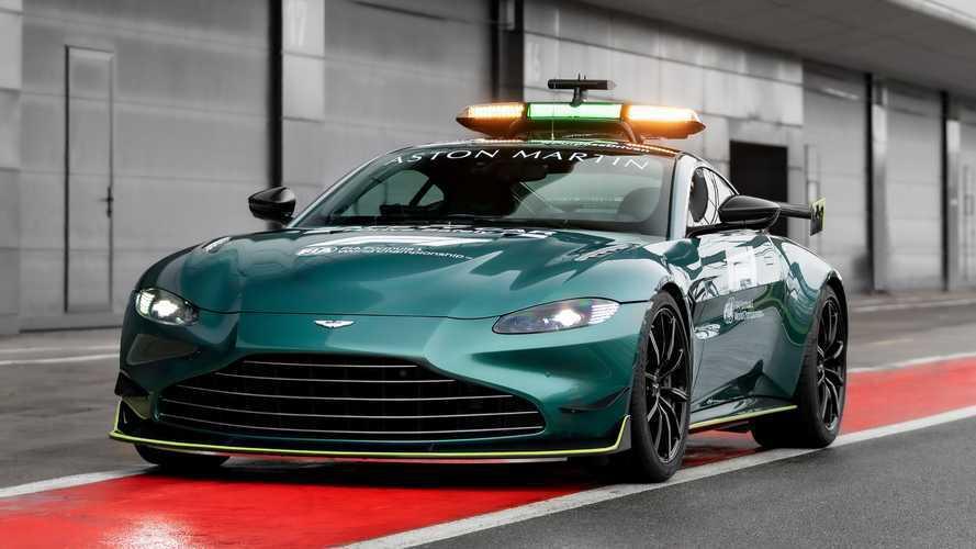 Aston Martin Vantage, è lei la Safety Car ufficiale della Formula1