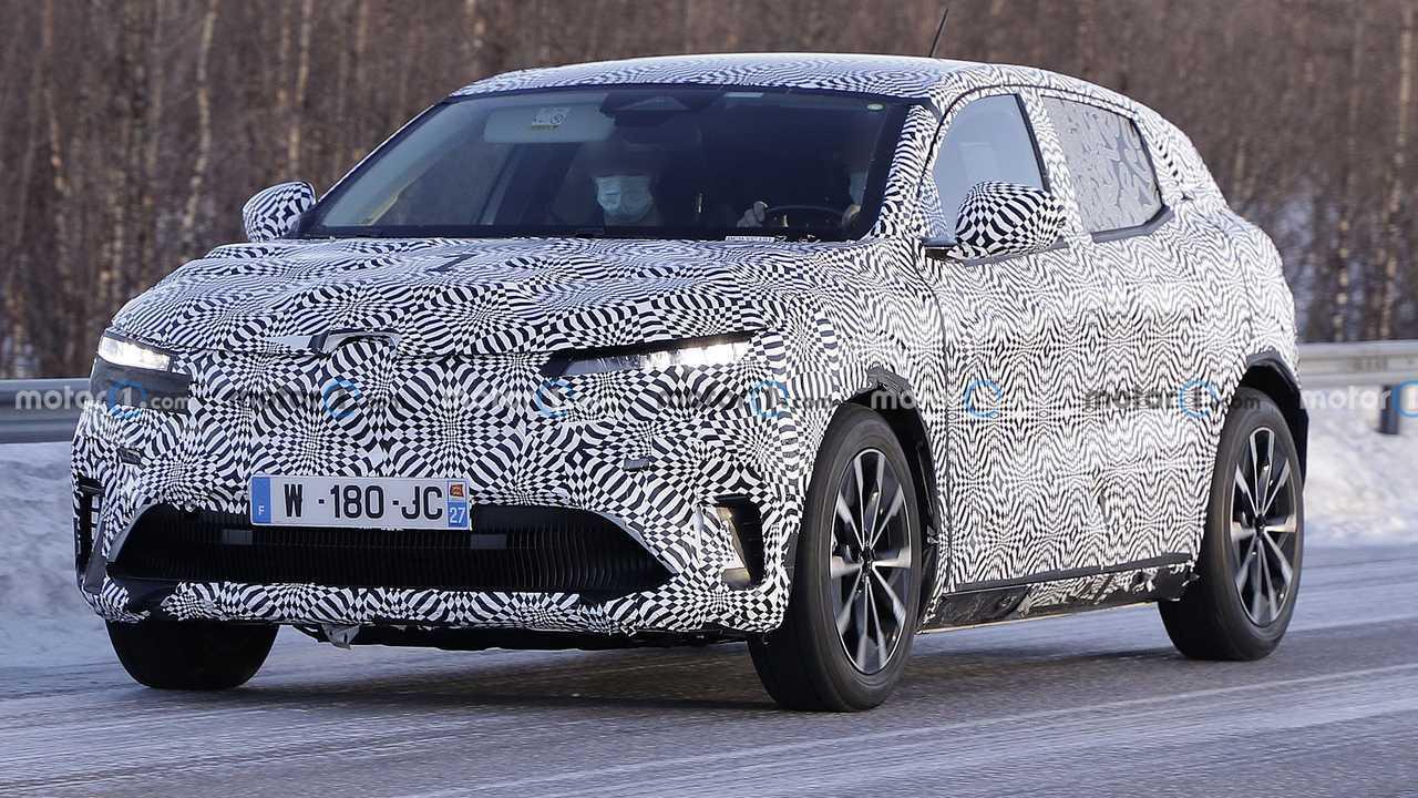 Renault Mégane eléctrico, fotos espía