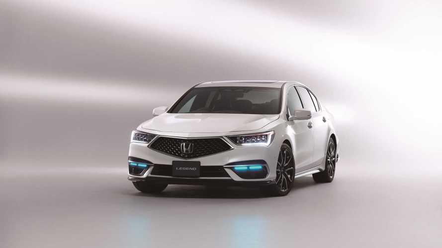 2021 Honda Legend with Level 3 autonomous system
