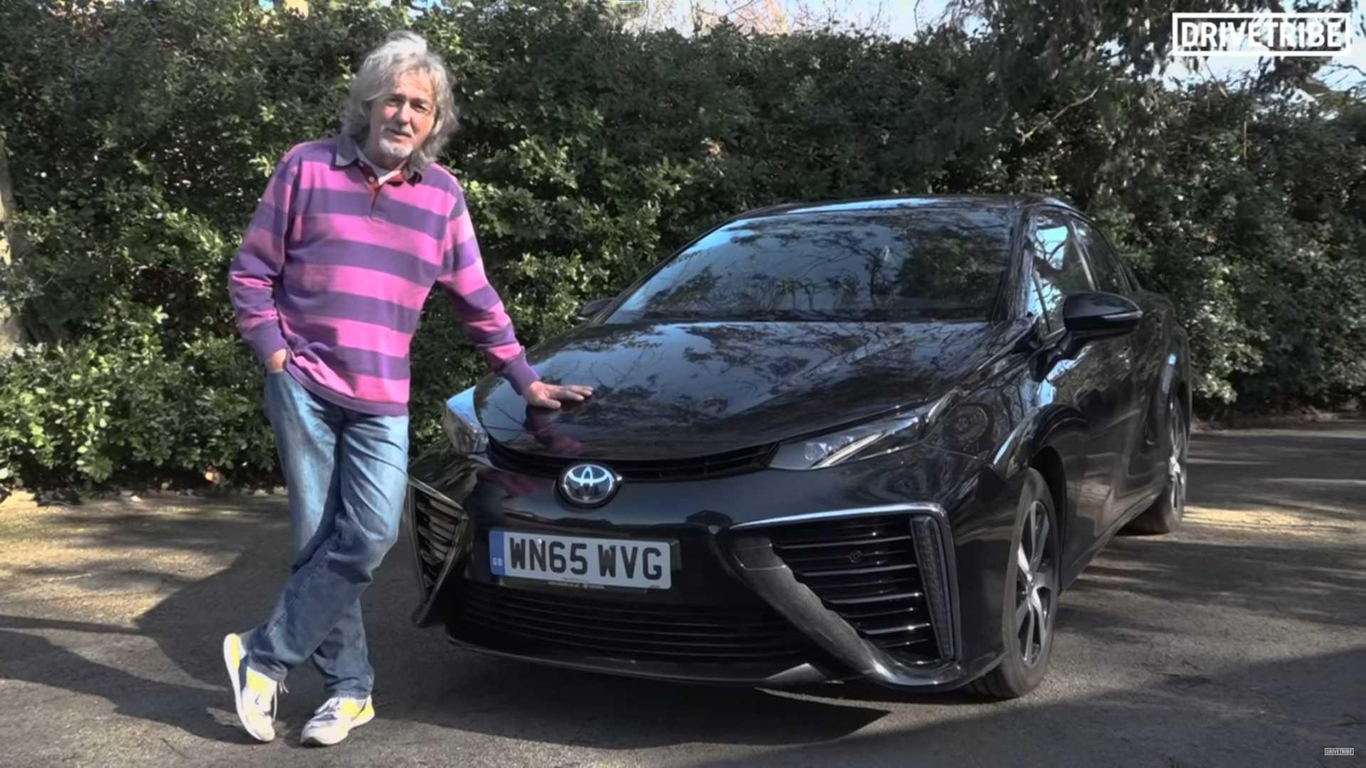 Узнайте, почему Джеймс Мэй продает свою Toyota Mirai
