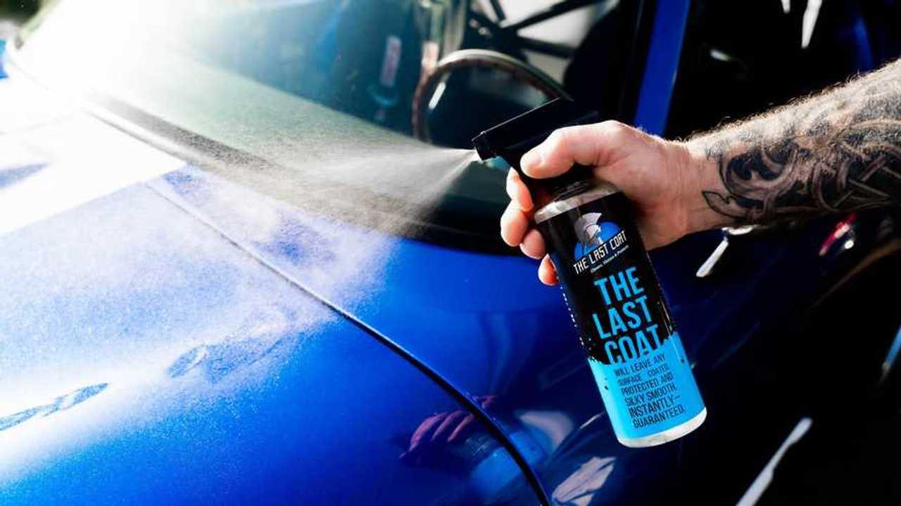 The Last Coat car wash spray