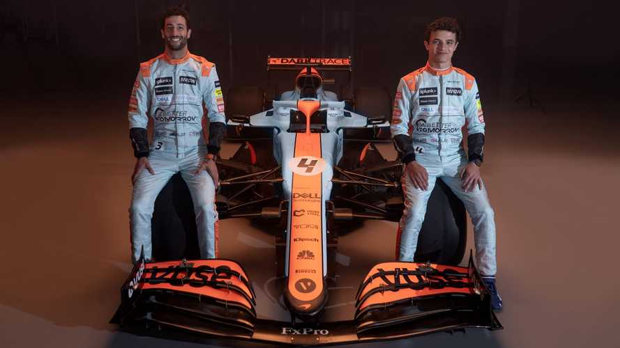 McLaren MCL35M Gulf