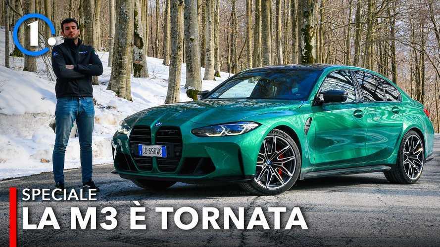 BMW M3 Competition, la bestia bavarese fa paura (anche alla Giulia)