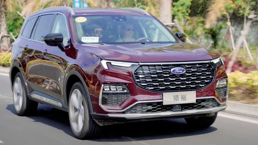 Get Familiar With The Ford Equator Large SUV Through In-Depth Video