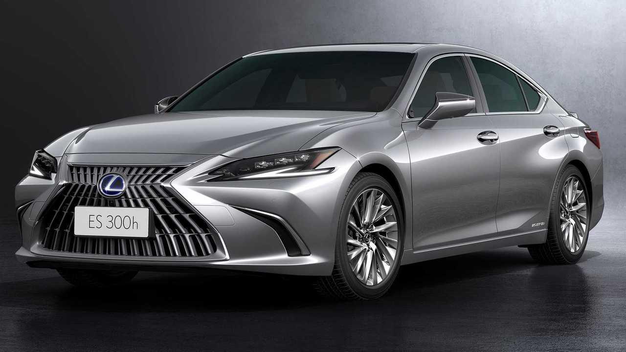 Обновленный Lexus ES