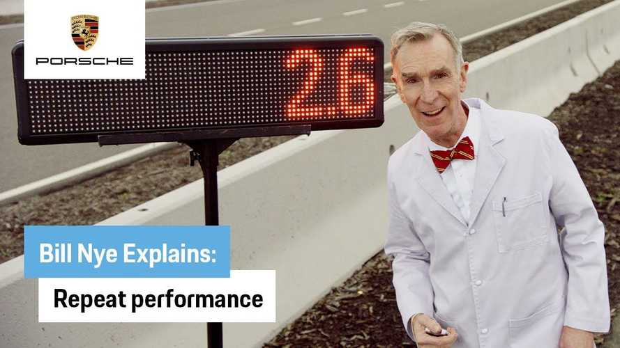 How Does The Porsche Taycan Work? Science Guy Bill Nye Explains
