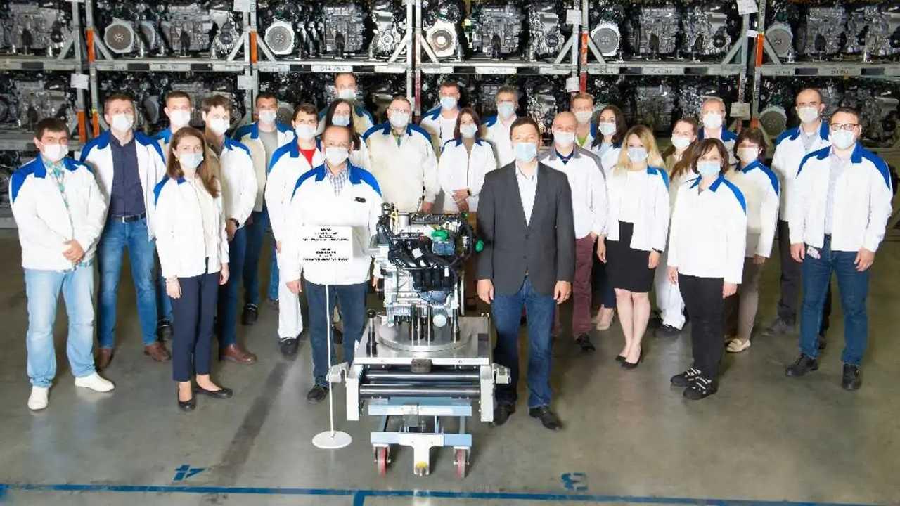 В Калуге выпустили 700-тысячный двигатель Volkswagen