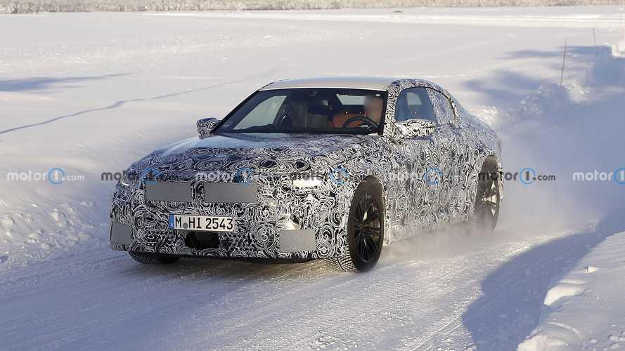 La future BMW M2 débusquée en cours d'essai