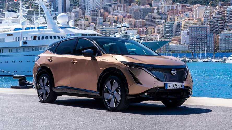 Nissan Ariya Makes Public Driving Debut In Monaco