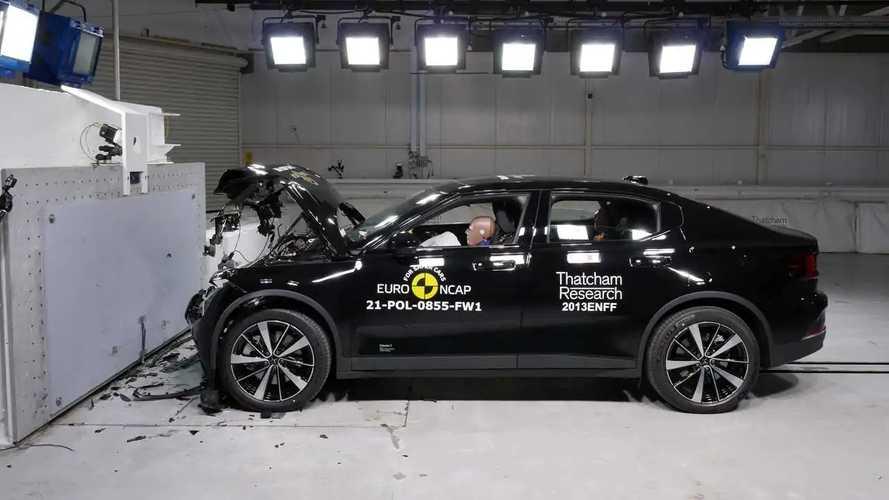 2021 Polestar 2 Euro NCAP Crash And Safety Tests