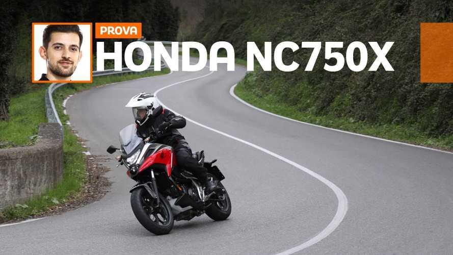 Honda NC750X 2021 - TEST