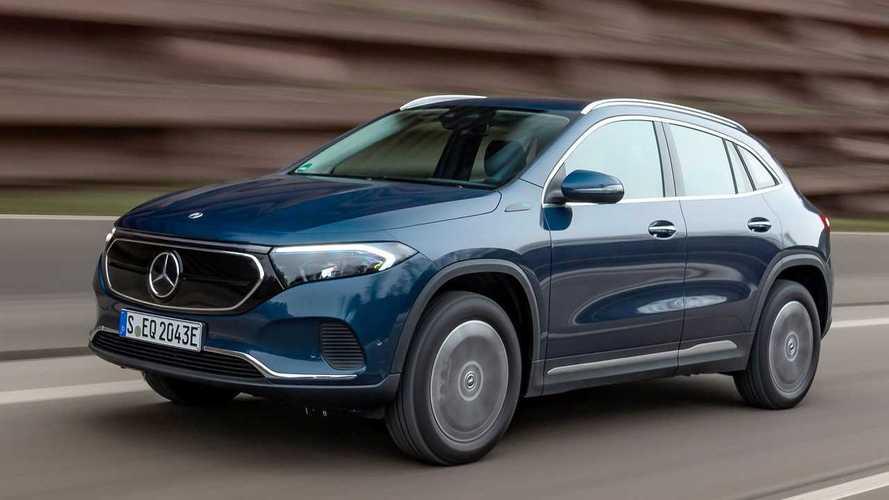 La Mercedes EQA reçoit deux nouvelles versions
