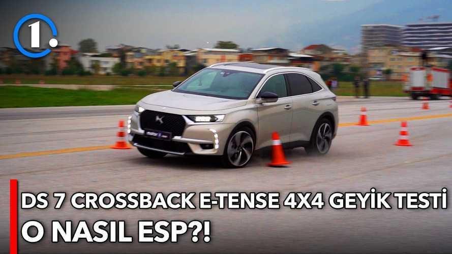 2020 DS7 Crossback E-Tense | Geyik Testi
