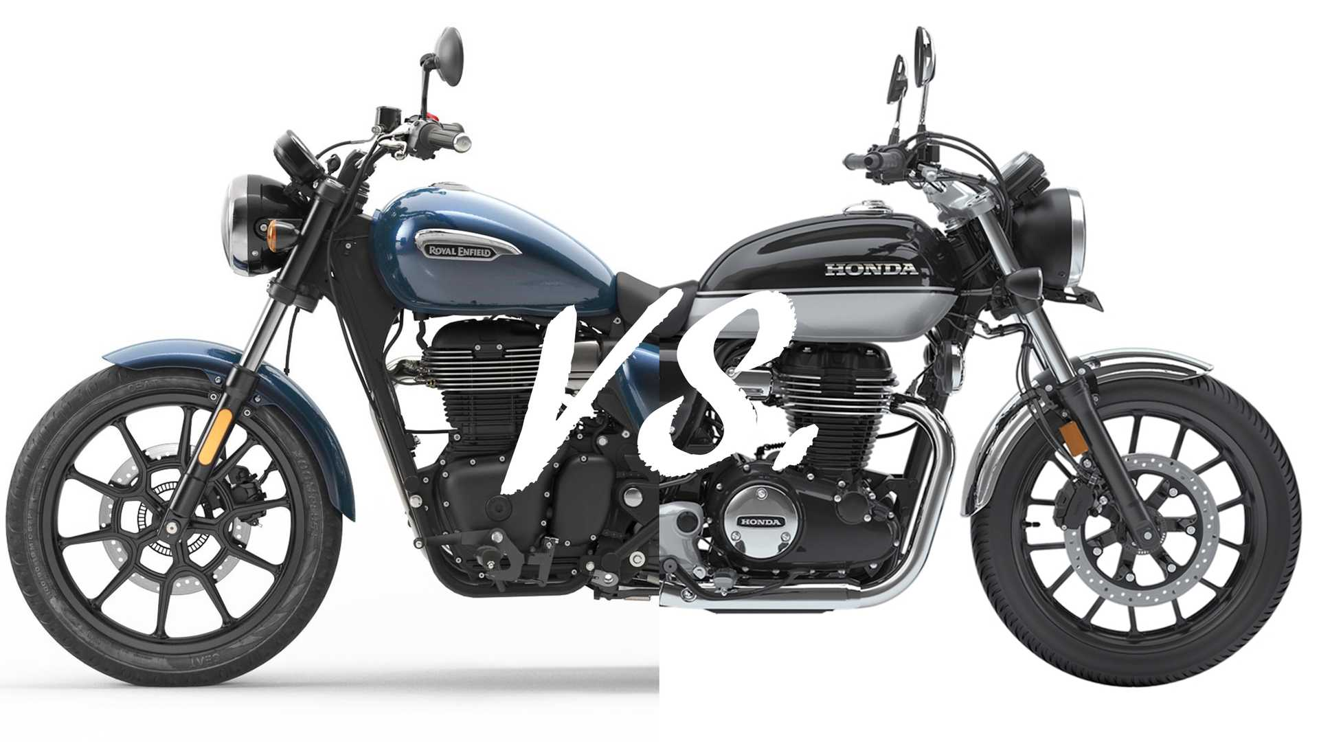 Spec Showdown: Royal Enfield Meteor 350 Vs. Honda H'Ness CB350