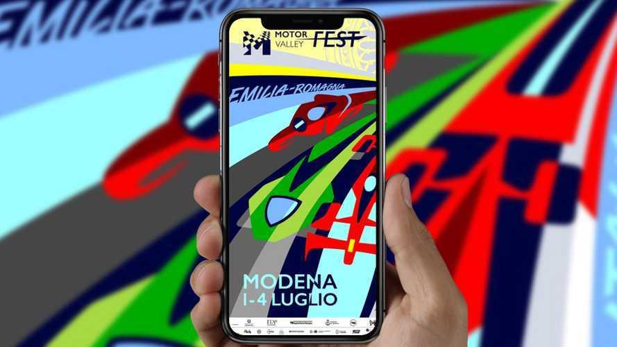 Aldo Drudi disegna il poster del Motor Valley Fest 2021