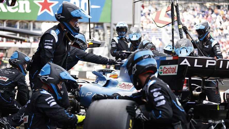 Alonso aporta una buena idea de neumáticos para circuitos urbanos