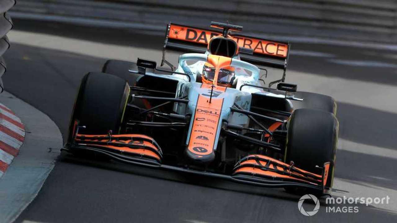 Daniel Ricciardo at Monaco GP 2021
