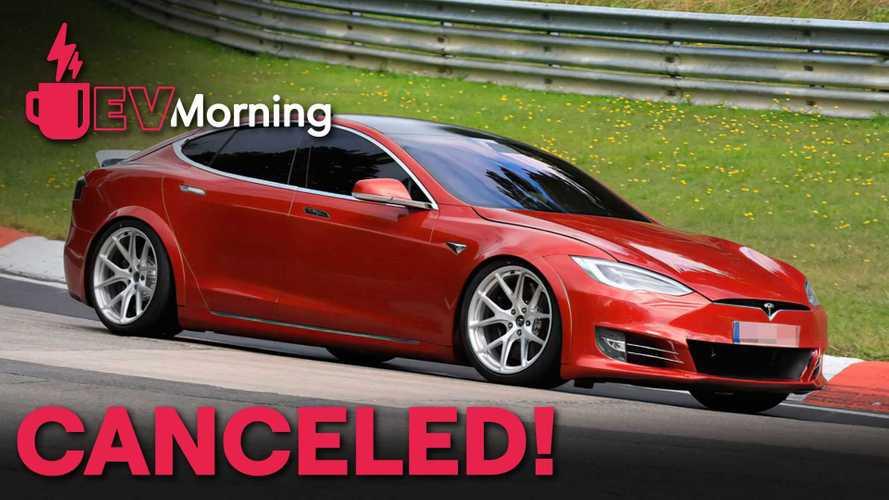 EV Morning News: Tesla Model S Plaid+ Gone, Plus Huge Range Test