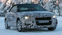 2014 Audi A3 Cabrio spy photo 29.1.2013