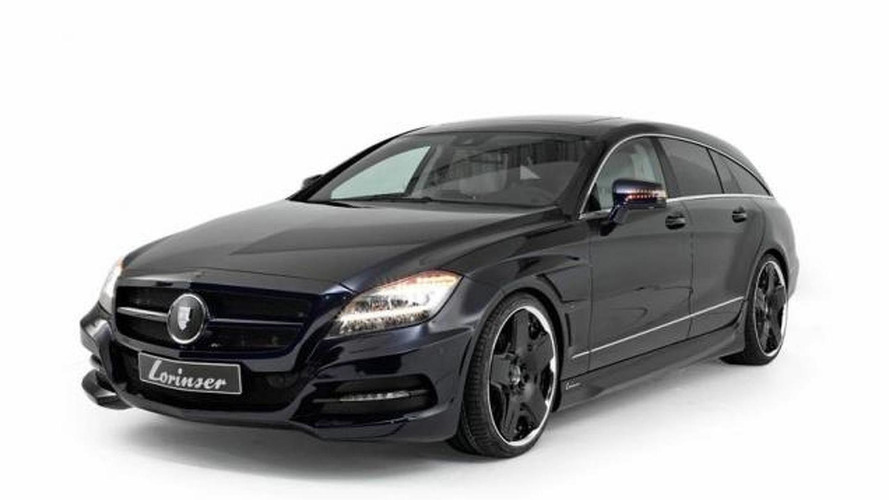 Mercedes-Benz CLS Shooting Brake gets Lorinser tuning kit