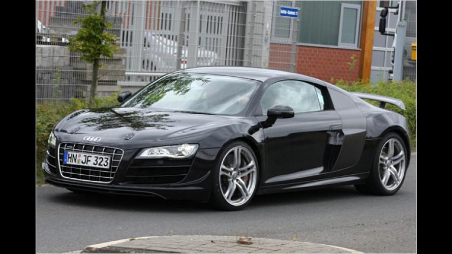 Erlkönig erwischt: Bringt Audi vom R8 eine RS-Version?