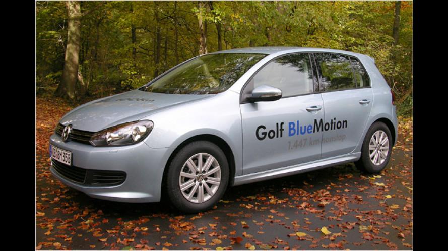 Sparsamer Ritt: Der neue VW Golf BlueMotion im Test