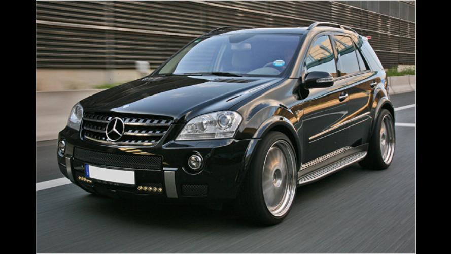 Gewaltig: Väth powert Mercedes ML 63 AMG auf 585 PS