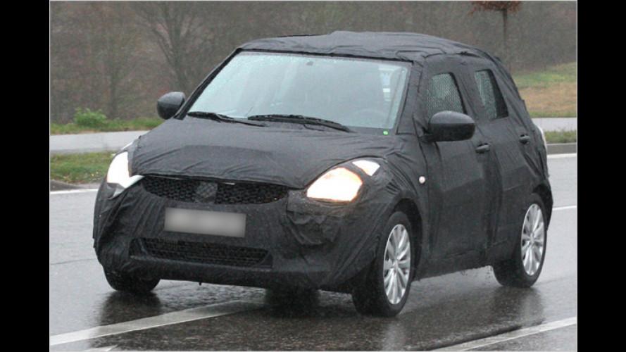 Erwischt: Suzuki bringt den nächsten Swift in Form