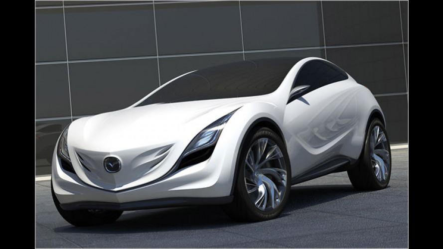Mazda Kazamai: Weltpremiere in Russland für tanzenden Wind