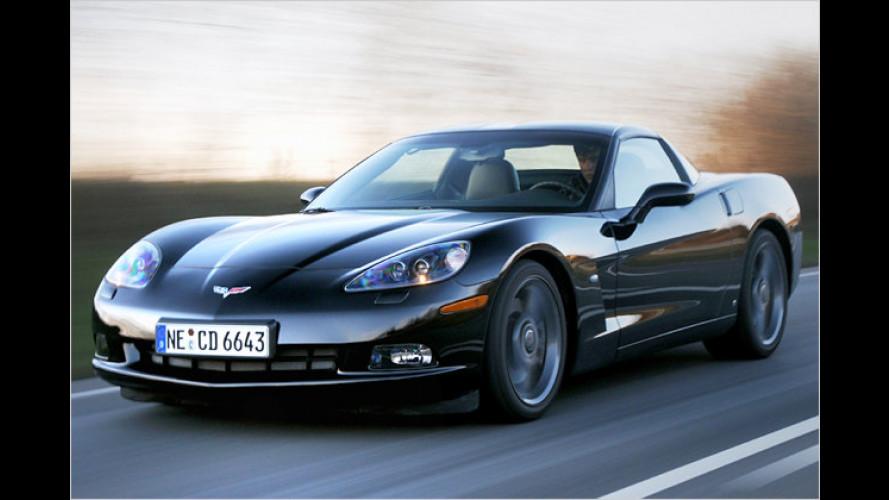 Freundschaftsangebot aus USA: Corvette C6