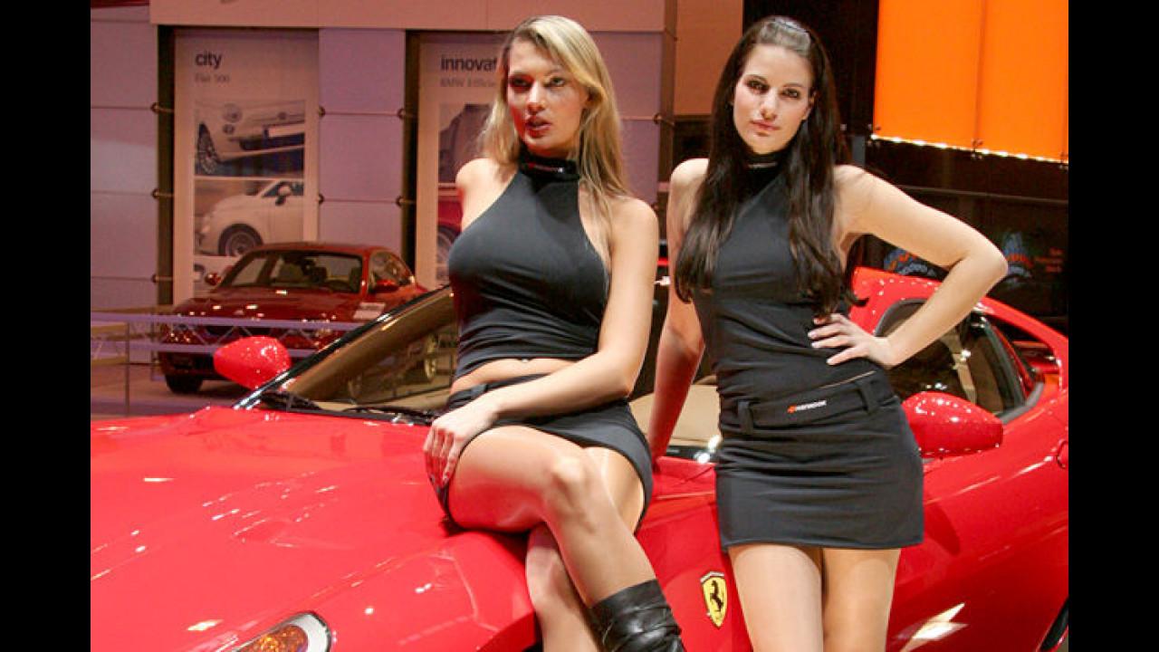 Tja, hat Mann einen Ferrari, kommen die Girls automatisch