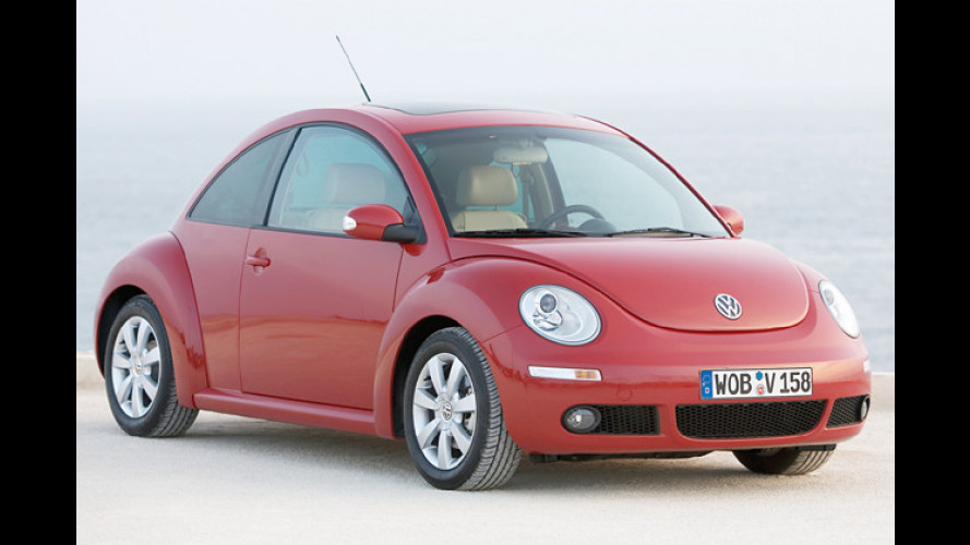 Runder Geburtstag: VW feiert zehn Jahre New Beetle