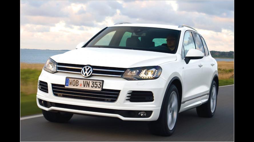 Dynamischer: VW Touareg mit R-Line ,Exterieur