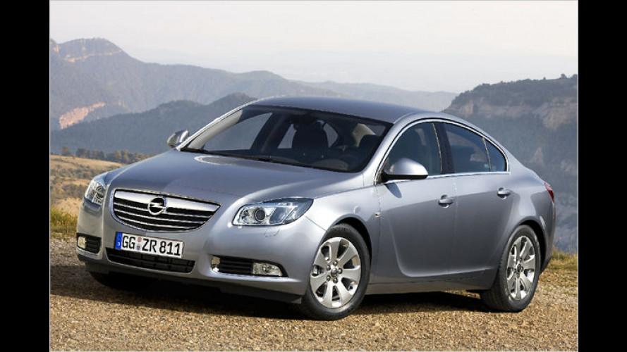 Opel bringt 2009 den ecoFlex-Insignia auf den Markt